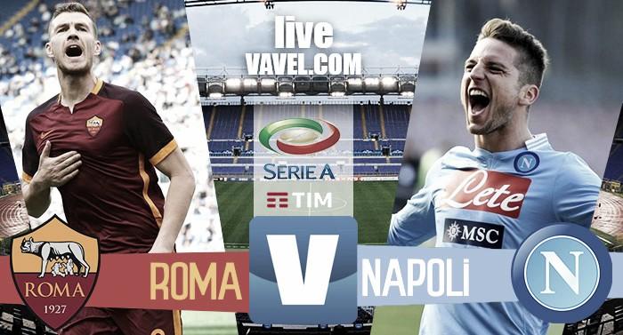 Terminata Roma - Napoli in Serie A 2016/17. Il Napoli espugna l'Olimpico! (1-2)