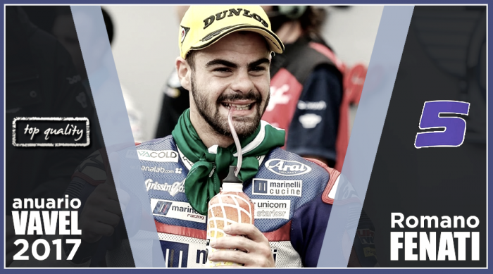 Anuario VAVEL Moto3 2017: Romano Fenati, una temporada en plata