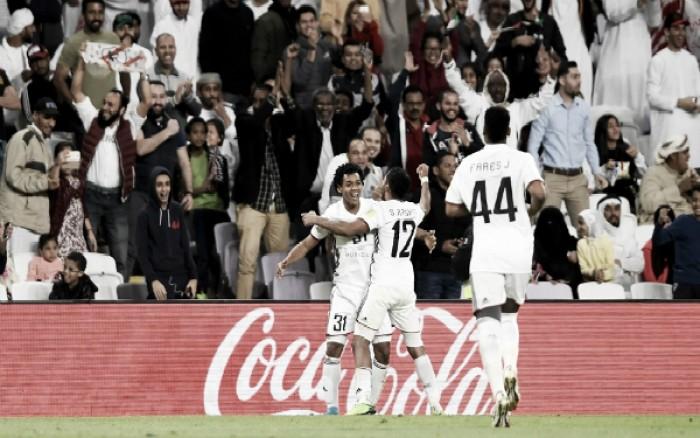 Ex-Corinthians, Romarinho marca e Al-Jazira elimina Auckland City ao vencer pelo placar mínimo