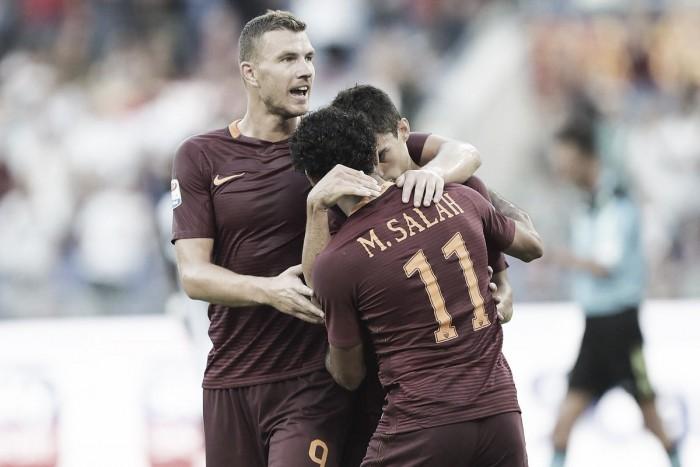 Roma deslancha no segundo tempo e goleia Udinese na abertura da Serie A