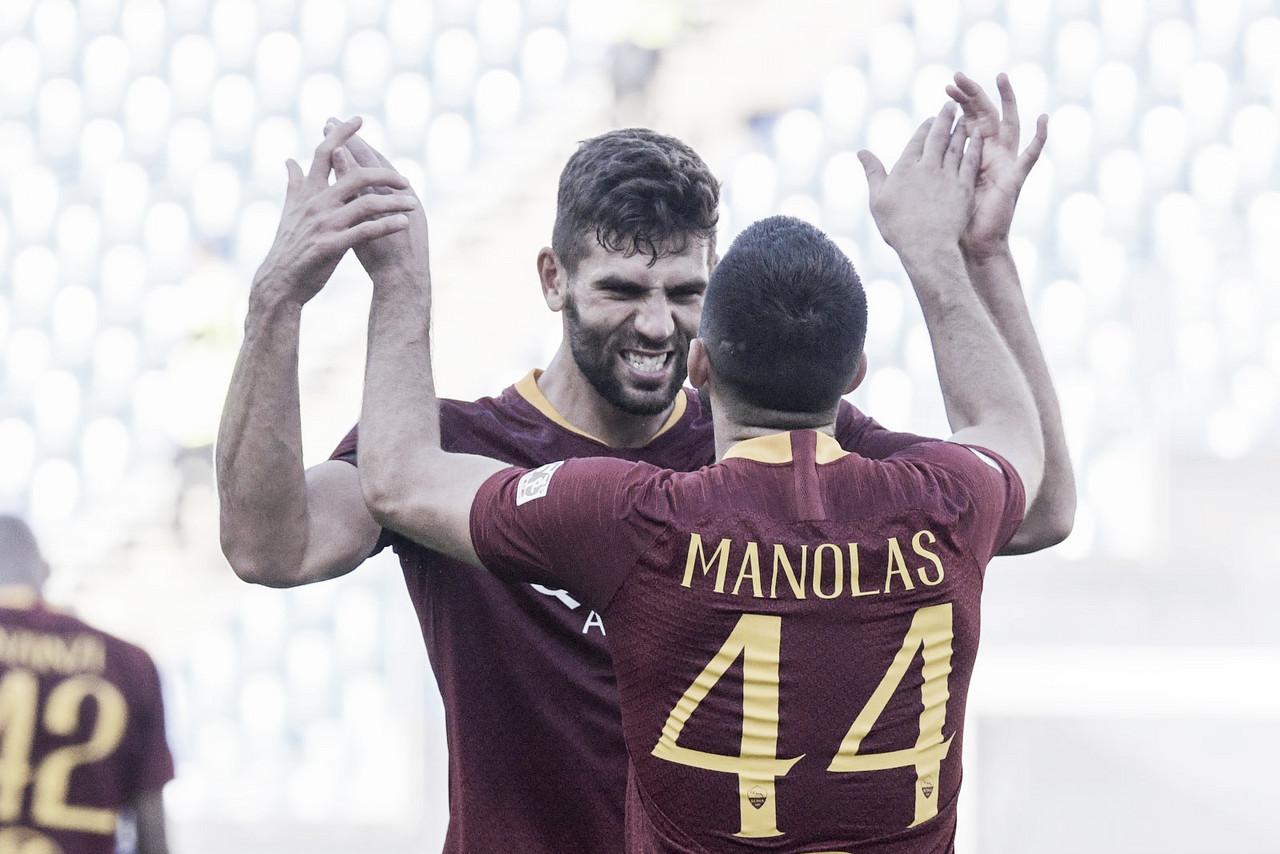 Com grande atuação coletiva, Roma bate a Lazio e confirma reação na Serie A