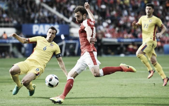 Em jogo movimentado, Romênia e Suíça empatam no Parc des Princes
