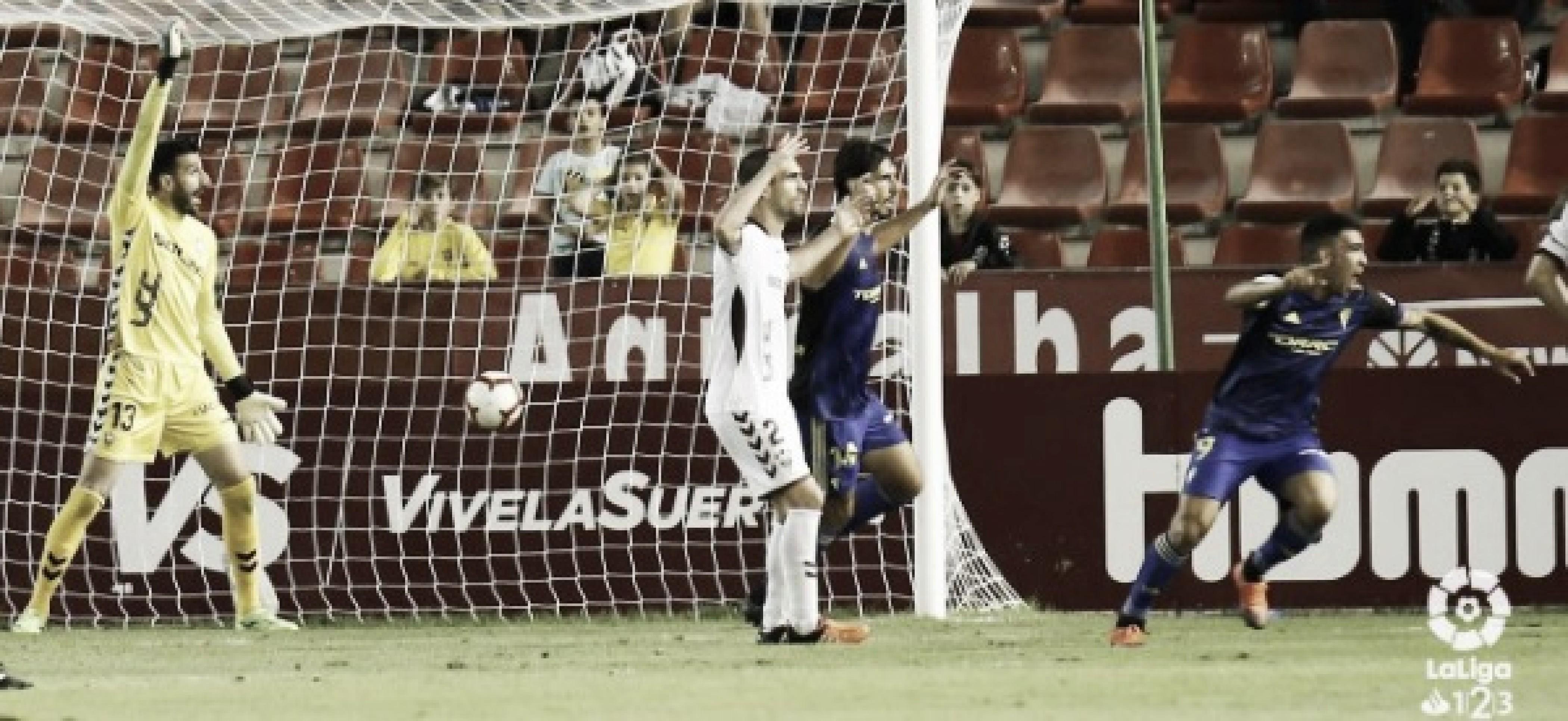 Albacete - Cádiz: puntuaciones del Cádiz, jornada 5 de Segunda División