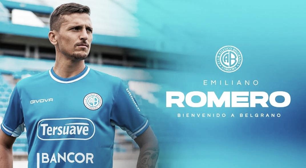 Emiliano Romero es nuevo refuerzo de Belgrano