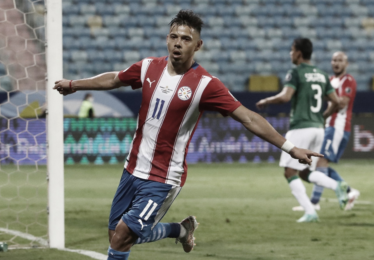 Paraguai vira para cima da Bolívia e estreia com vitória na Copa América 2021