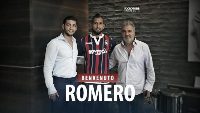 Aristóteles Romero será un nuevo legionario en el FC Crotone