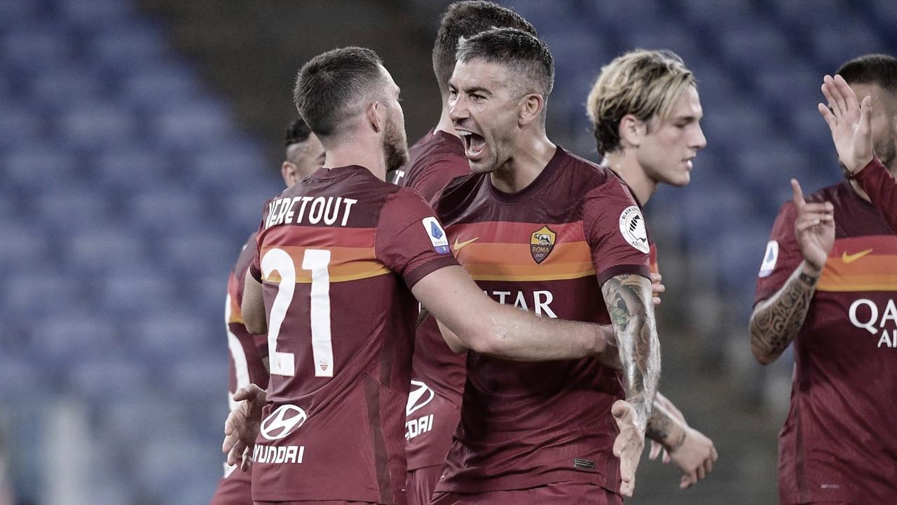 Veretout faz dois de pênalti, Roma vence Fiorentina e chega a sete jogos sem perder
