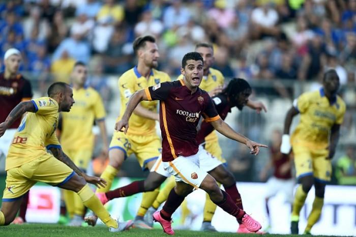 Roma Vs Frosinone, Serie A 2015/16 (3-1): Nainggolan, Ciofani, El Shaarawy, Pjanic