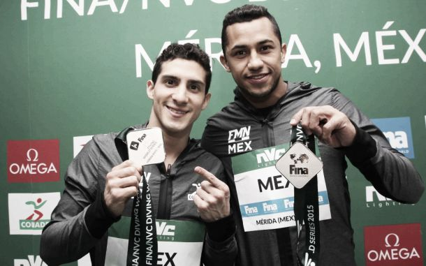 Rommel Pacheco y Jahir Ocampo obtienen plata en el Mundial de Clavados