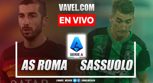 Goles y resumen del AS Roma 2-1 Sassuolo en Serie A 2021