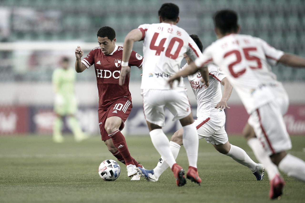 Rômulo faz balanço da temporada e considera como positivos números no Busan IPark