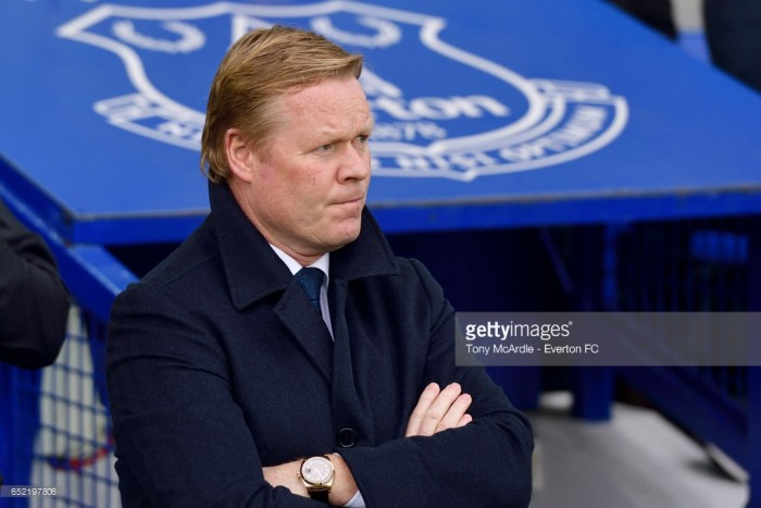 All eyes on European place for Everton, says Koeman