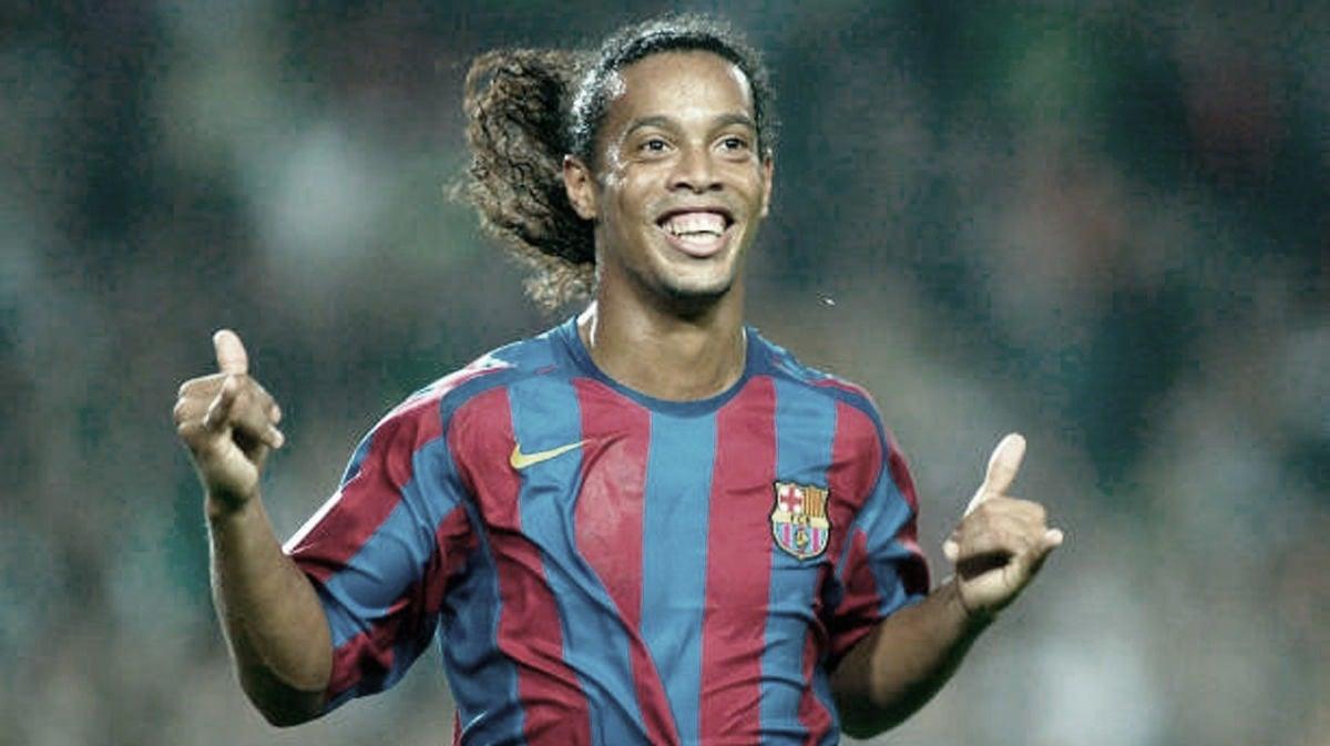 Ronaldinho, la sonrisa del Barça