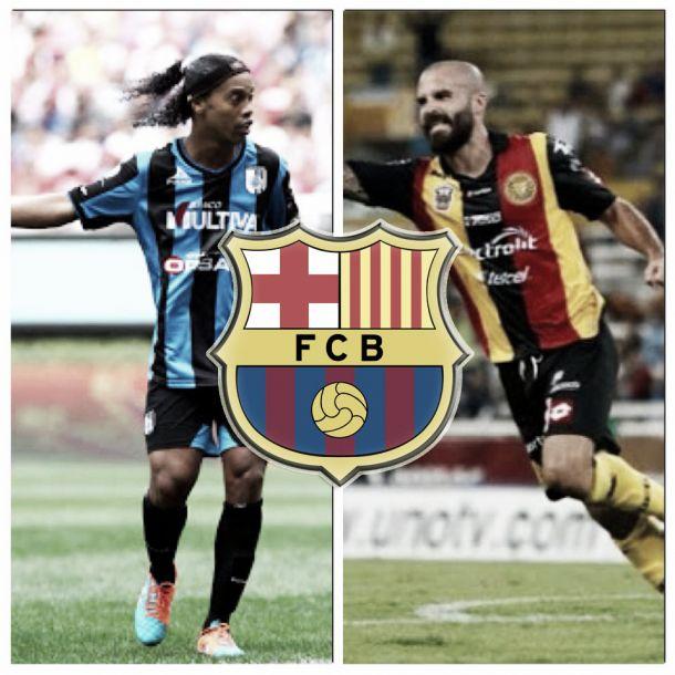 Ronaldinho - Marc Crosas: con pasado blaugrana y hoy referentes en sus clubes