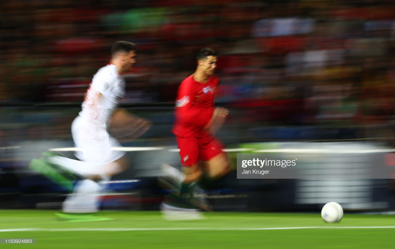 Nations League - Portugal 3-1 Switzerland: Ronaldo hat-trick outshines VAR controversy