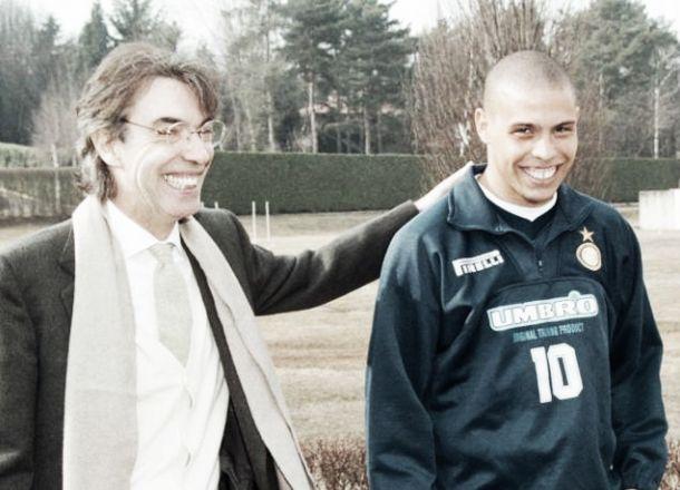 Ex-presidente da Inter, Moratti diz que Ronaldo foi seu melhor investimento