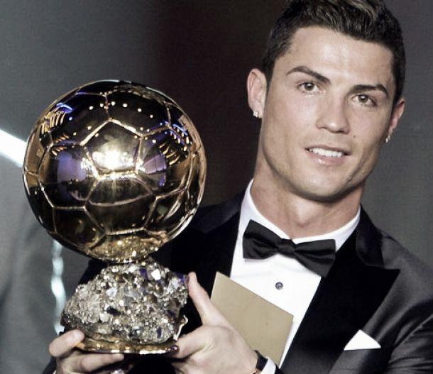 Ronaldo wins third Ballon d'Or