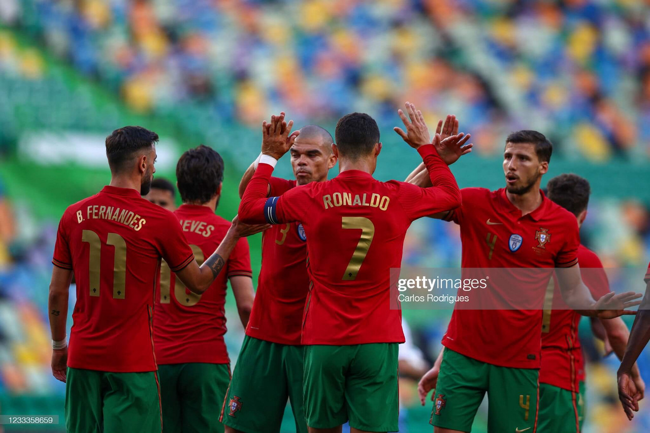 Portugal 4-0 Israel: Bruno and Ronaldo shine in final warm-up game