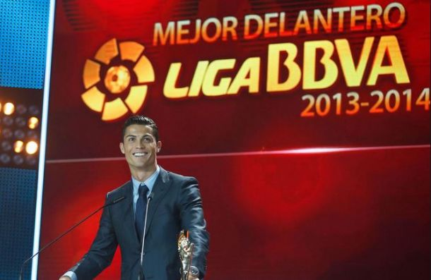 Ronaldo takes LFP awards evening by storm, Atletico's players leave empty handed