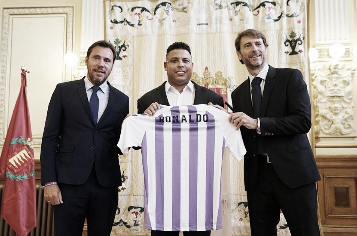 Ronaldo é anunciado como novo dono do Real Valladolid