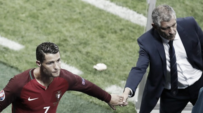 Fernando Santos defends Cristiano Ronaldo over Iceland comments