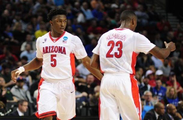Arizona Wildcats - Xavier Musketeers Live Score And Results of NCAA Tournament Sweet Sixteen