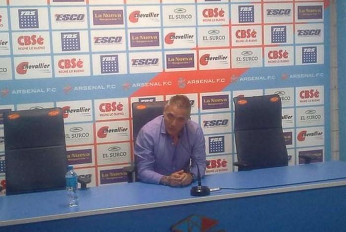 """Sergio Rondina: """"El resultado más justo era el empate"""""""