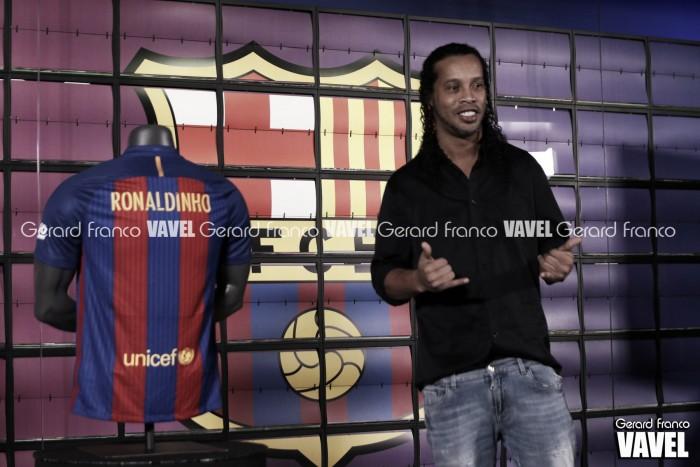 Emotiva despedida de Ronaldinho en redes sociales