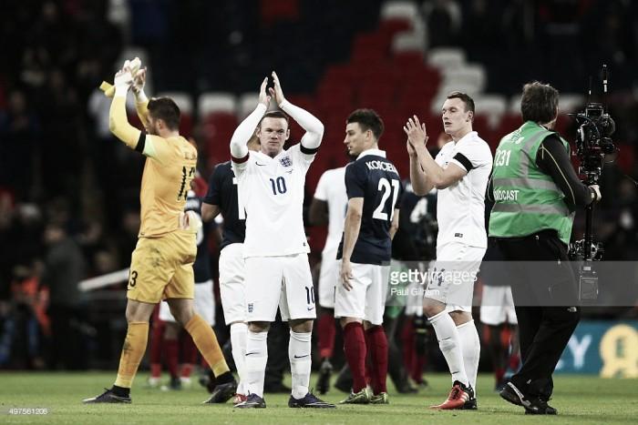 A caminho do euro: a seleção inglesa