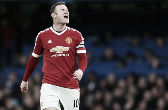Wayne Rooney out for between 6-8 weeks with a knee ligament injury