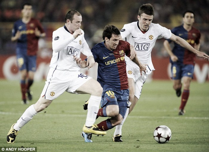 Lionel Messi hails Manchester United captain Wayne Rooney