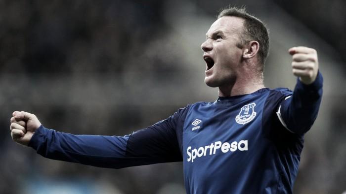 Wayne Rooney vuelve a dar una nueva victoria al Everton