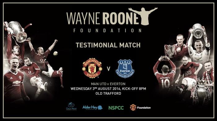 Manchester United enfrenta Everton em partida comemorativa por Rooney