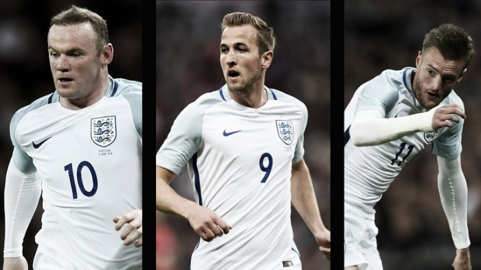 Harry Kane cree en un poderoso tridente ofensivo para Inglaterra