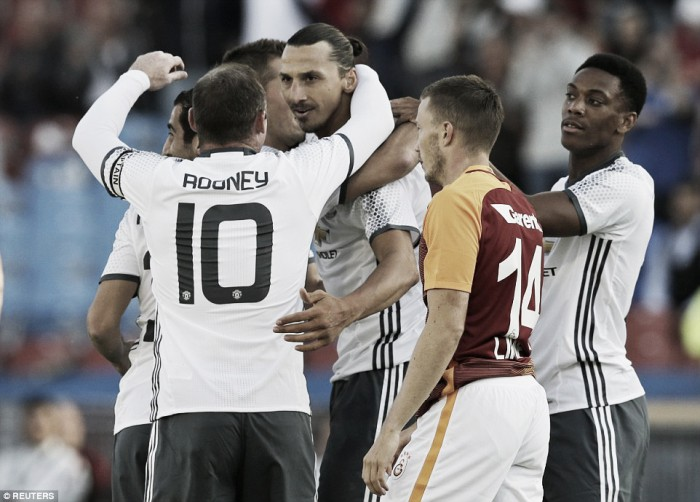 Galatasaray 2-5 Manchester United: Terrific Red Devils demolish Turks with four second-half goals