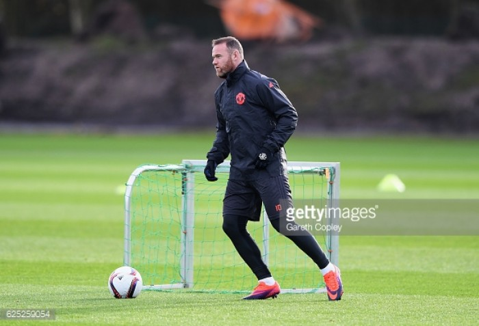 Rooney back in training already with future uncertain