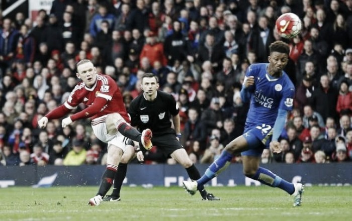 "Wayne Rooney disappointed with Leicester draw after feeling that United were ""better team"""