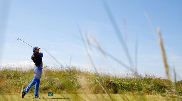 Rory McIlroy, primer líder del British Open