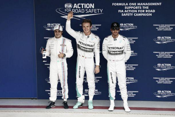 Nico Rosberg lidera a la clase dominante en Interlagos