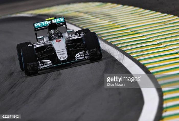 Brazilian GP 2016 FP3: Rosberg trumps Hamilton