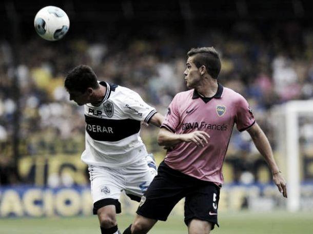 Boca Juniors 1 - 1 Gimnasia La Plata : uno x uno