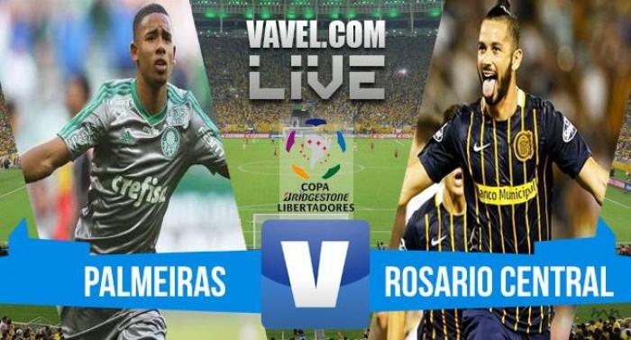 Resultado final: Rosario Central vs. Palmeiras por la Copa Libertadores 2016 (3-3)