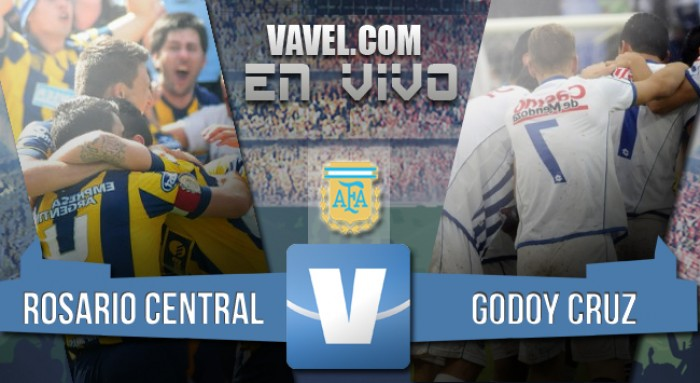 Resultado Rosario Central - Godoy Cruz por el Campeonato Argentino 2016 (1-0)