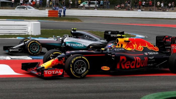 Mercedes e Red Bull dominam sexta-feira em Spa-Francorchamps com Robserg e Verstappen