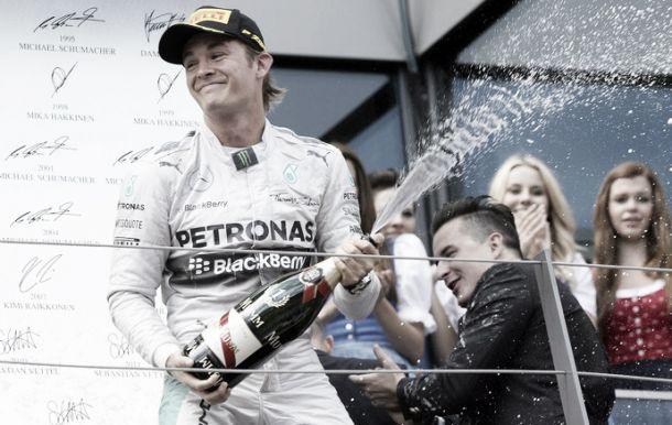 Rosberg: «Foi um fim de semana maravilhoso para nós»
