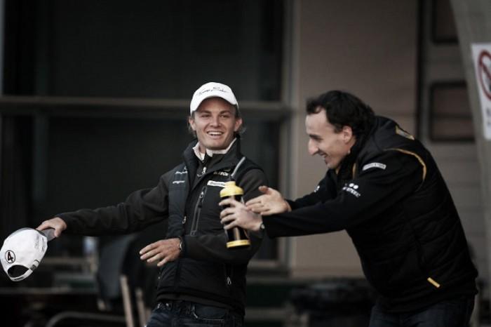 Sorpresa: Nico Rosberg diventa il manager di Robert Kubica!