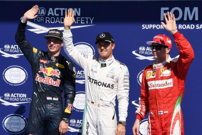 Sem concorrência, Nico Rosberg crava pole position na Bélgica