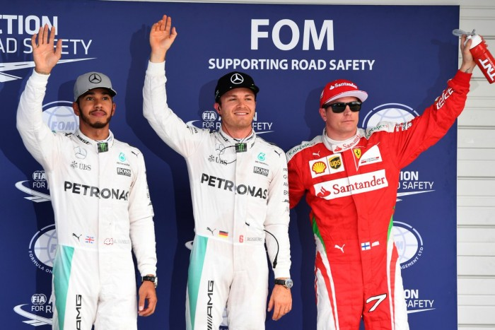 Rosberg supera Hamilton por 0,013s e crava a pole para o GP do Japão