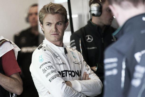 """Nico Rosberg: """"La salida la había hecho muy mal"""""""