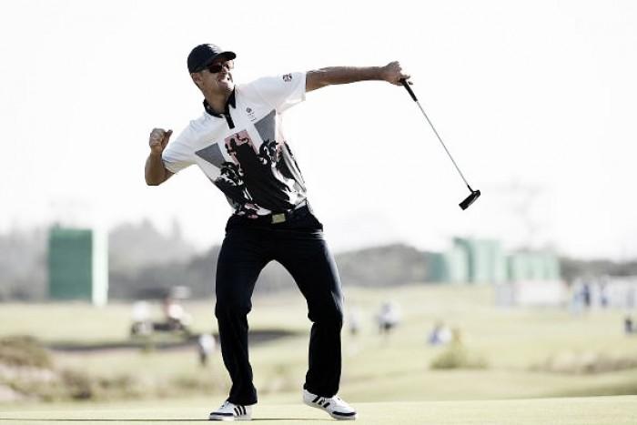 Britânico Justin Rose faz história e conquista primeiro ouro após volta do golfe masculino aos Jogos